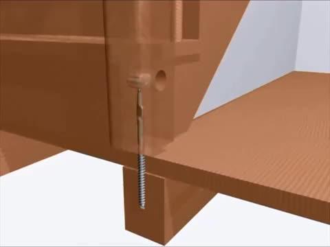 Крепление для деревянных столбов к бетону купить разуклонка керамзитобетон